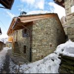 Uno scorcio del Bed and Breakfast di Estoul a Brusson